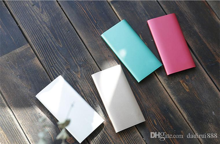 New hot Power Bank High Quality 10000mah 2 USB output Phone Backup battery Universal Charger for phone tablet PC Powerbanks Custom LOGO