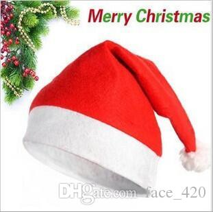 Acquista Cappello Di Natale Cappelli Di Tessuto Non Tessuto Cappello Di  Babbo Natale Cappellino Di Cotone A  0.32 Dal Face 420  4409d00914ff