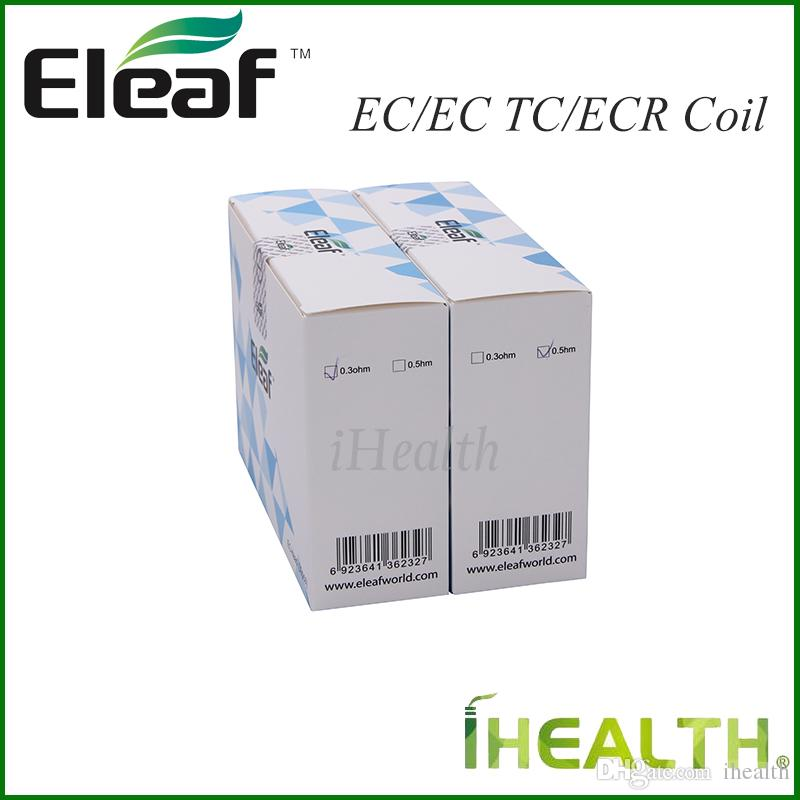 Authentic! Eleaf EC 2 Coil Head for iJust 2 Melo 2/Melo/Melo 3/Melo 3 Mini atomizers EC 0.3/0.5ohm EC-Ti 0.5ohm EC-Ni 0.15ohm ECR