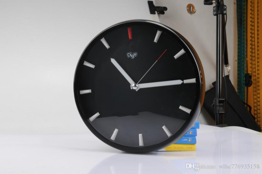 2018 Newest Wifi Hidden Mini Spy Camera Clock Wall Clock Camera
