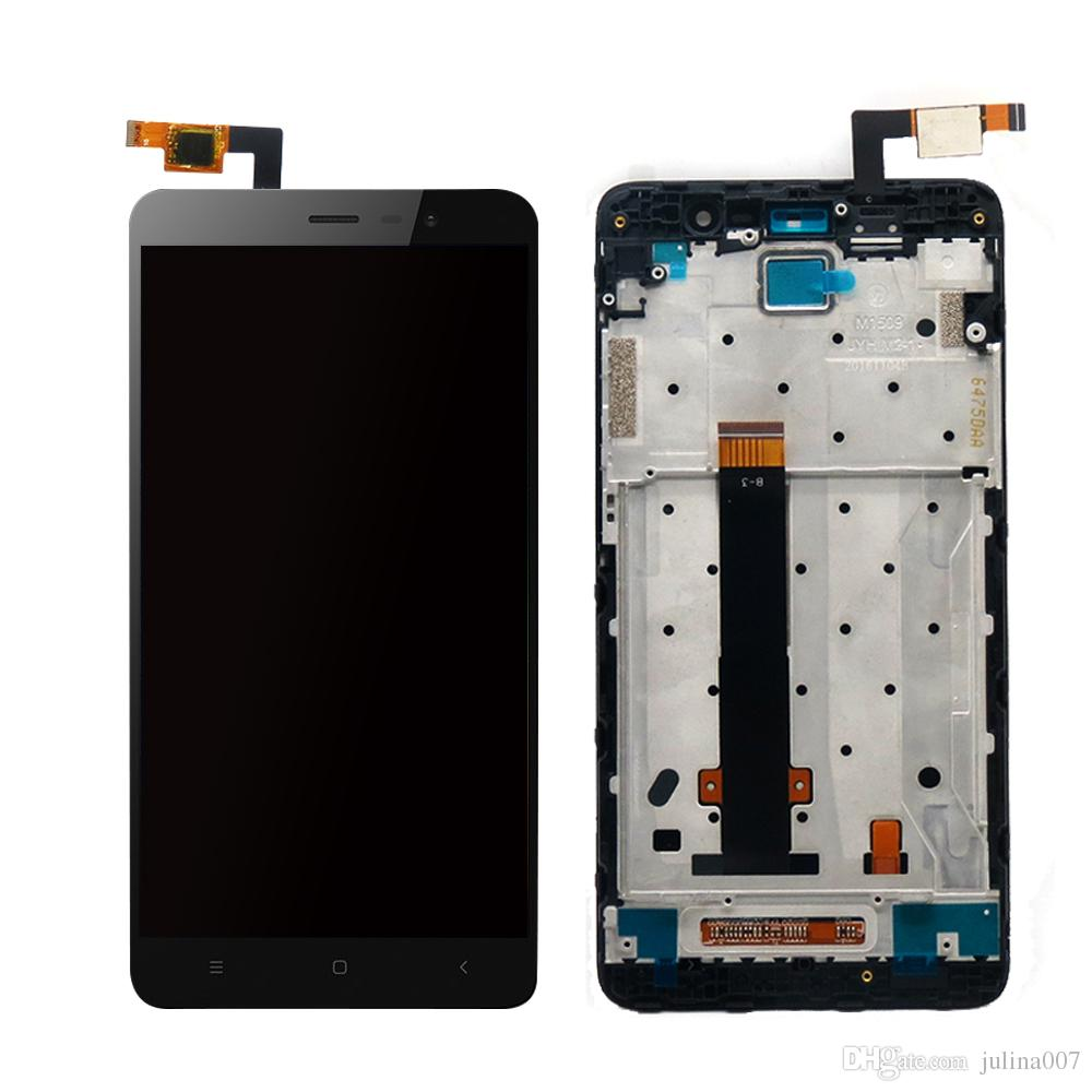 Tested For Xiaomi Redmi Note 3 Pro SE LCD Display Frame Touch Screen Panel  Redmi Note 3 LCD Display Digitizer Complete Parts