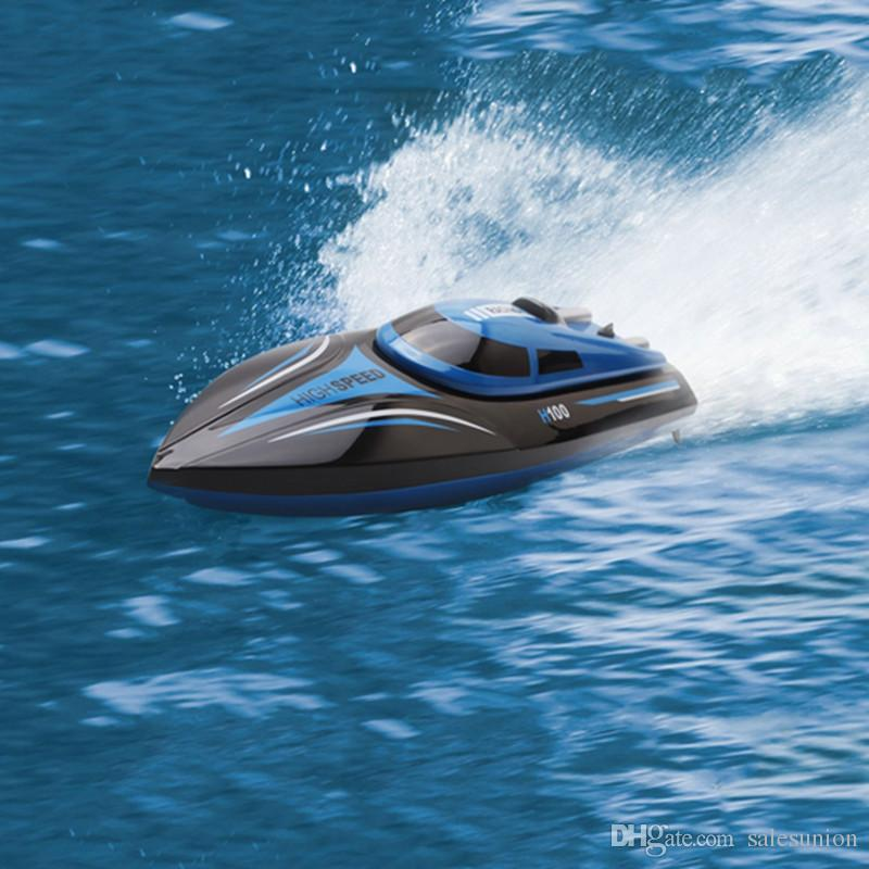Hot Sale Fast Rc Boats Electric Remote Control Boat High Speed Rc Speedboats Ship Toys For Children Dropshipping