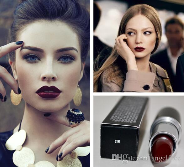 2016 FrostSexy barra de labios barra de labios HOT NEW M Makeup Lustre barra de labios Frost barra de labios Mate barra de labios 3g es barra de labios más de 120 DHL