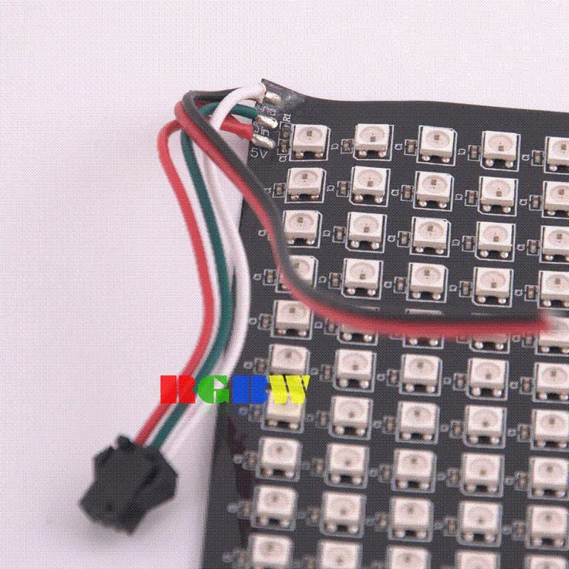 16x16 RGB LED Matrix w/ WS2812B - DC 5V Pixel Panel Strip Light light bulb  led