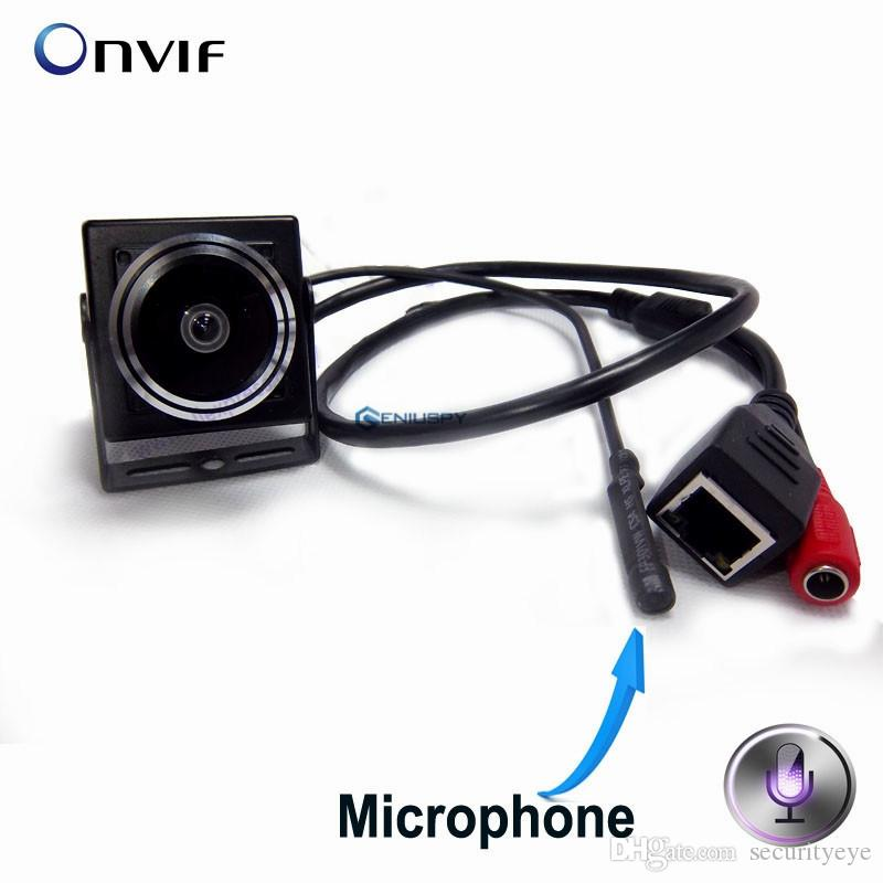 1.3MP HD Surveillance Audio Video Camera Mini 960P IP Network Wide Angle Cctv Camera P2P Onvif Plug and Play With 1.78mm Fisheye Lens