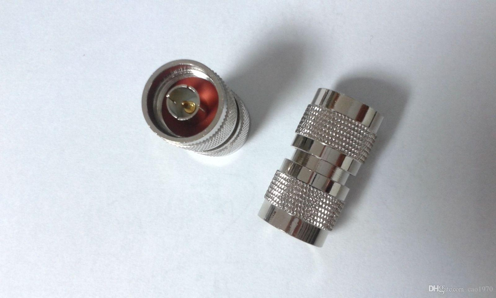cobre N Male Plug a N Plug adaptador RF directo