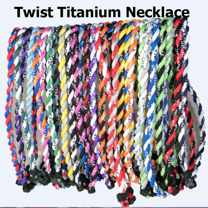 2017 Titânio Twister Titânio Esportes Colar 1000 cores