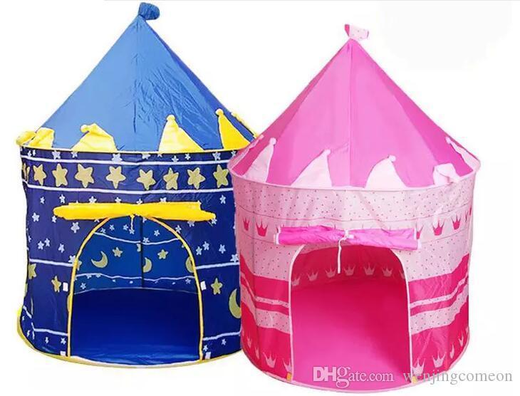 Tende da gioco bambini Tenda principe e principessa Festa bambini Tenda da esterno interni Gioco Casa i scegliere