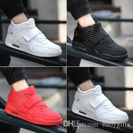 908fb285b1a8 Keloch New 2016 Men Sneakers Casual Shoes Red Suede PU Leather Men High Top  Casual Shoes Summer Cool Winter Warm Men Sport Shoes Red Botas Canada 2019  From ...