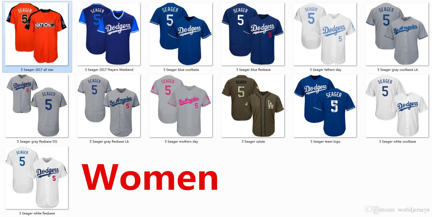 arrives a12e9 72c34 coupon for corey seager womens jersey 63841 cc90f