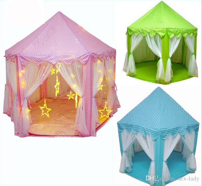 Tende Da Gioco Per Bambini.Acquista Tende Da Gioco Bambini Tenda Principe E Principessa Festa