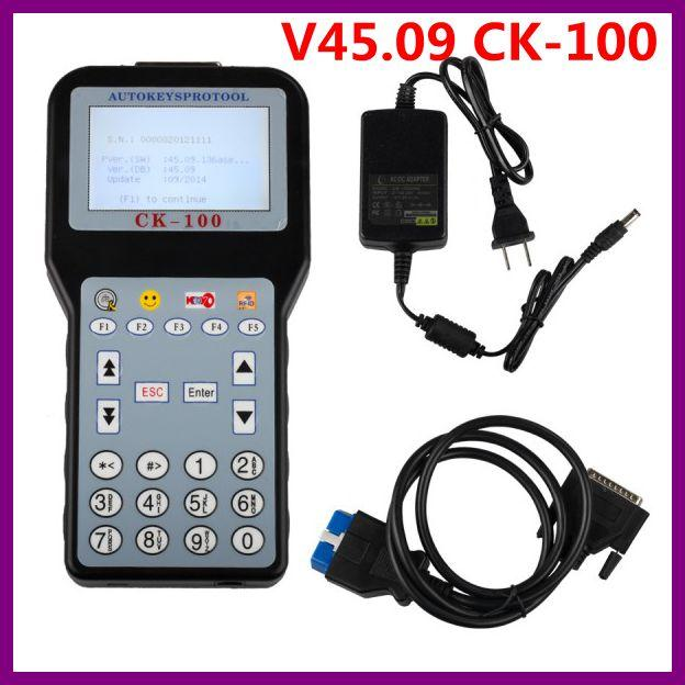 2016 V45.09 CK-100 CK100 Auto Key Programmer Support hasta 2014.09 Multi-language Support Pin Code Reader Función parte de los coches