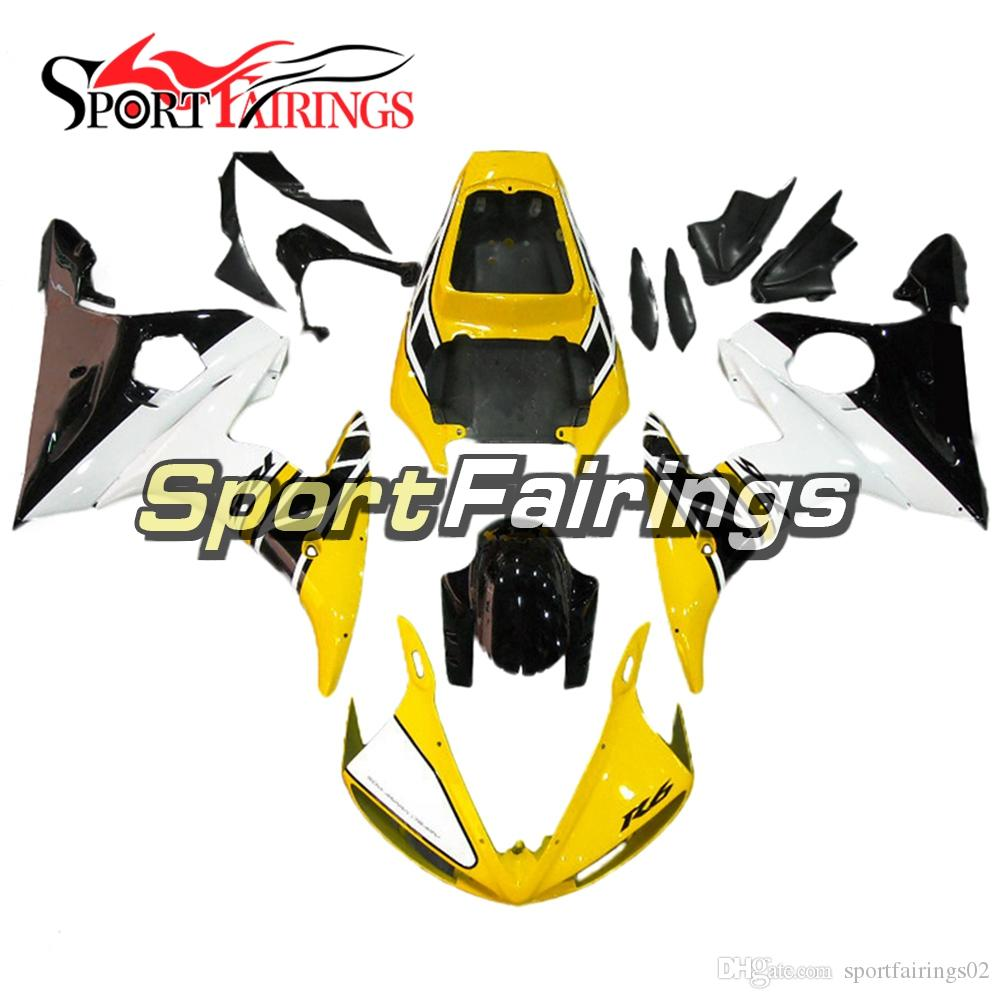 Injection Fairings For Yamaha Yzf600 Yzf R6 05 2005 Injection Abs ...