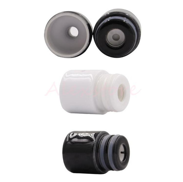 Full Ceramic Wax Atomizer Donut Wickless Coils Herbal Pyrex Vaporizer 510 Tank Hookah Globe Bulb Vase Cannon Bowling Vape Pen Mod