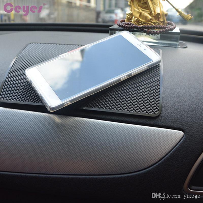 إكسسوارات داخلية للسيارة بساط مضاد للانزلاق لبطانة بيجو Emblems شارة Auto Mat قابل للانزلاق لجميع السيارات
