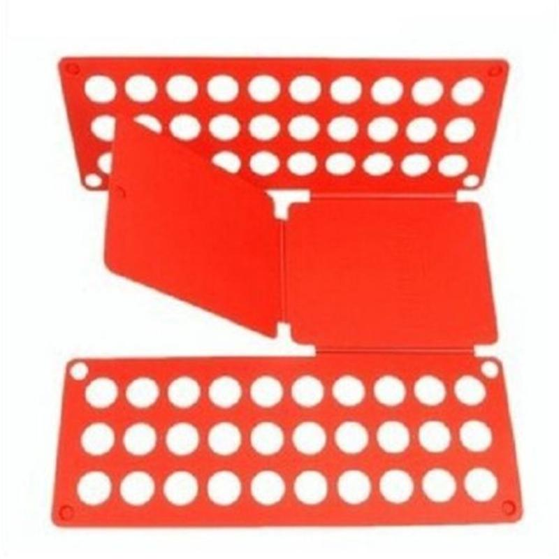 Clothes T Shirt Fast Folder Magic Folding Board Flip Fold Adult Laundry Organizer Adjustable