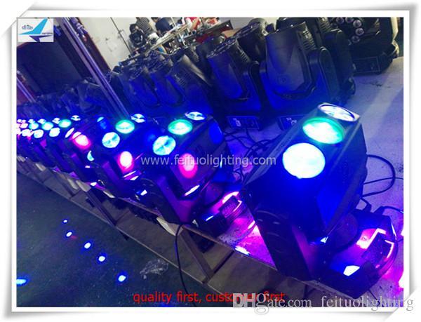 led 거미 빔 이동 머리 12w rgbw 4in1 디스코 나이트 댄스 파티 결혼식 콘서트 3 * 3 회전 led 빛