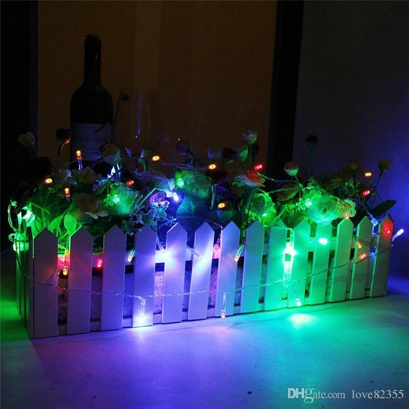 LED string light 4M 40leds holiday led lighting Decorative Christmas Party Festival Twinkle String Lights Bulb