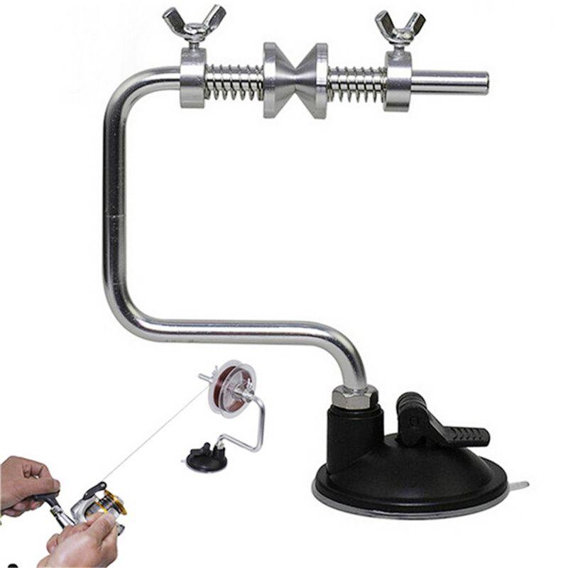 Ligero Portátil línea de pesca Winder Reel Spool Spooler System Tackle Tensor de aluminio Contorl Nuevo aparejo de pesca 2508014