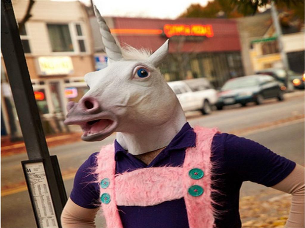 Halloween Mask Masquerade For Adult Fashion Unicorn Mask Horse ...