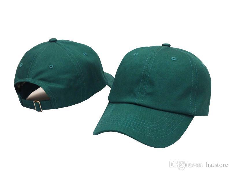 Fashion Green Blank Baseball Caps Plain Curved Snapback Hats For Men Women  Sports Hip Hop Cap Brand New Sun Hat Cheap Sunmmer Hats Hat Beanies From  Hatstore ... 5f7e552c7f0b