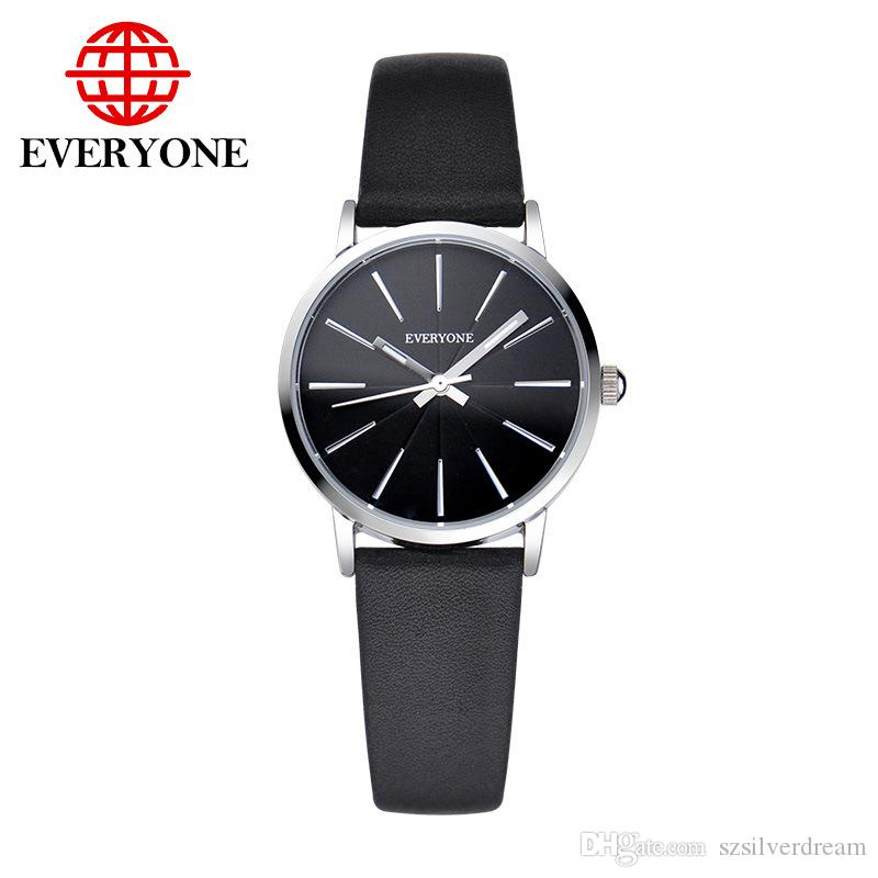 Top 2018 Brand Mens Watches Luxury Fashion Business Watch Candy Color Clock Male And Female Strap Wrist Watch Gift Diversified In Packaging Watches