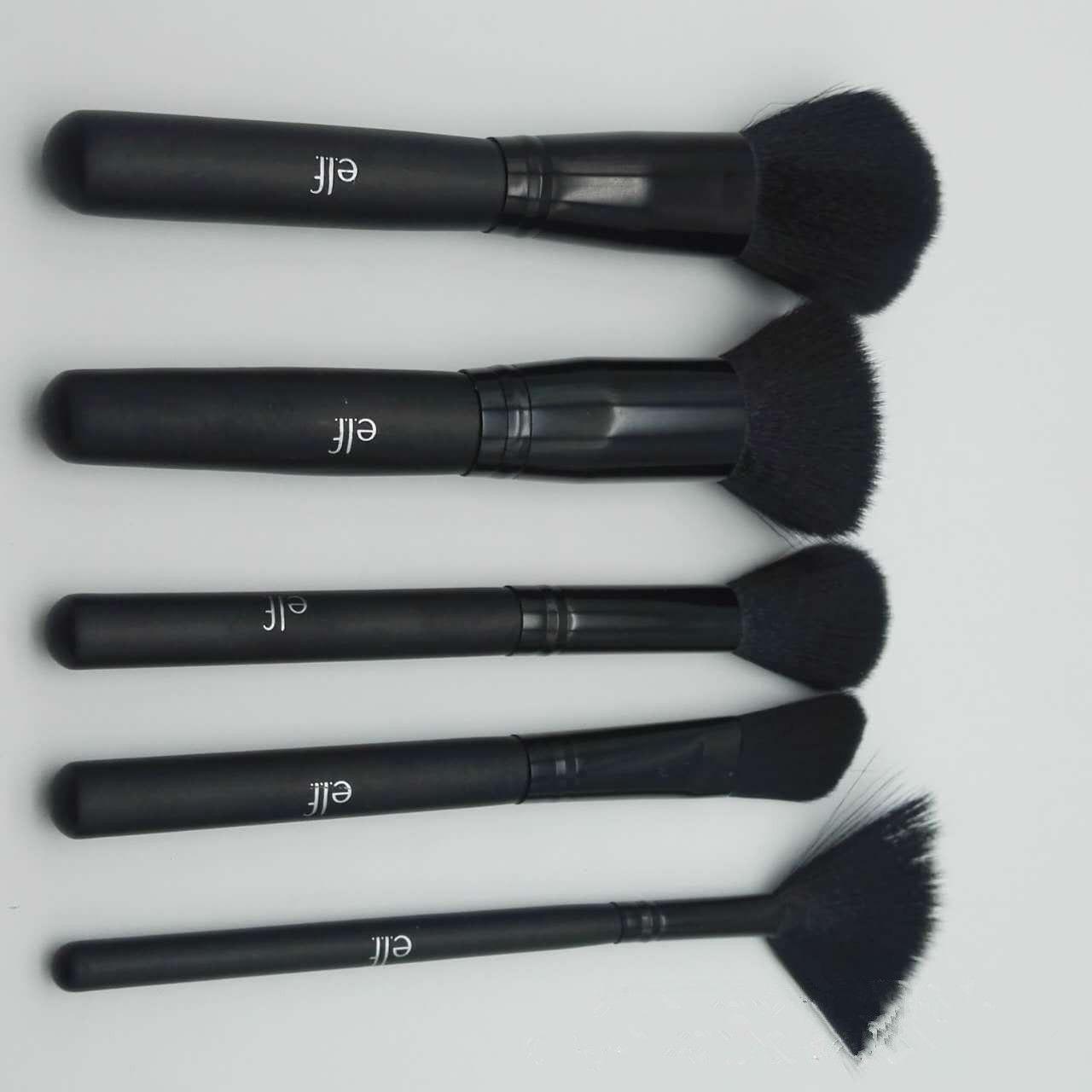 Black Makeup Brushes Set Face Power Eyeshadow Foundation Brush Multipurpose Beauty Cosmetic Tool Make Up Brush Sets with Box