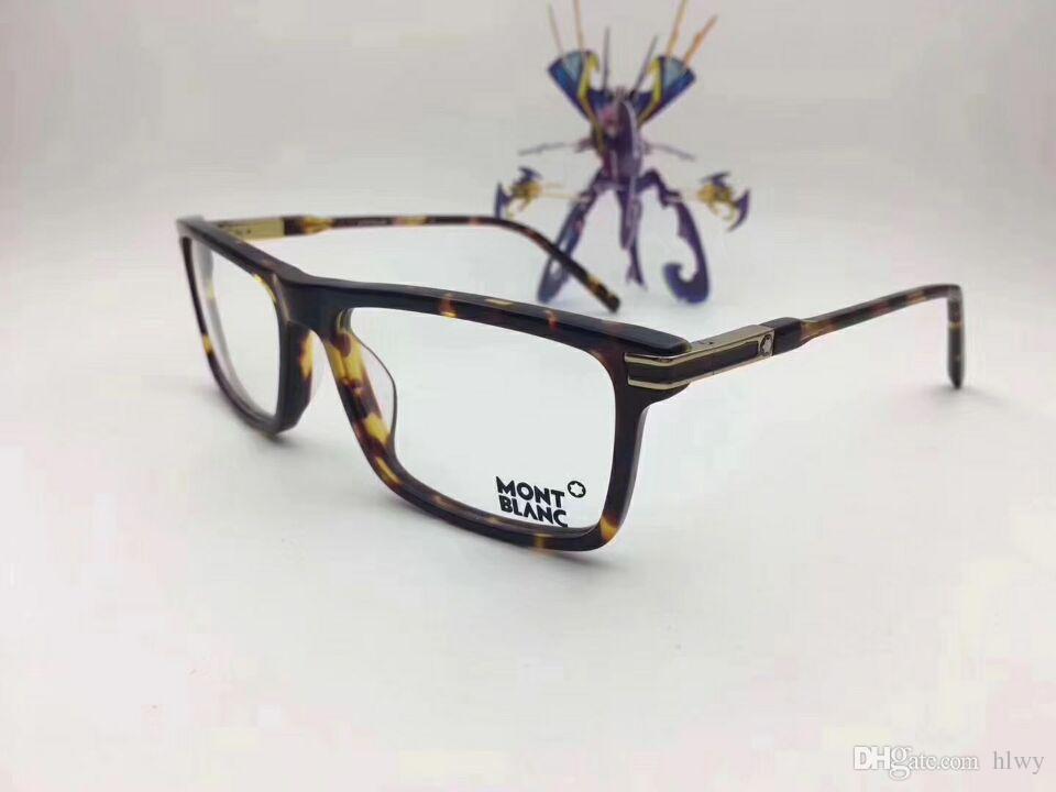 MB8032 İtalyan Marka Tasarımcısı Tasarlanmış Gözlük Çerçeve Gözlük Çerçeve Erkek Eşleştirme Bitmiş Düz Işık Miyop Gözlük Çerçeve Eşleştirme
