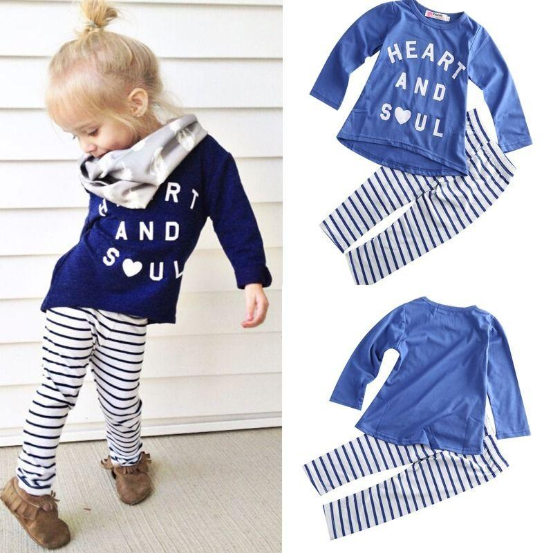 d0dcfbaa 2016 Clothes Girls Baby Kids Boys Children Clothing Sets Suits ...