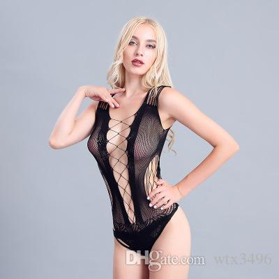 b1686afb59f8b Wholesale Mesh Women Sexy Lingerie Sleeveless Half Transparent Chest Open Sexy  Sleepwear Evening Club Dress Sexy Customes Sexy Lingerie Sexy Customes Mesh  ...