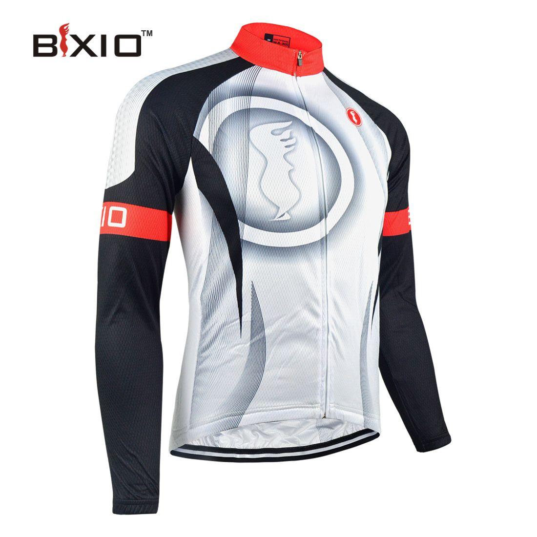 Bxio Winter Thermal Fleece Cycling Jersey Only Pro Bike Jersey Warm ... df1d447a6