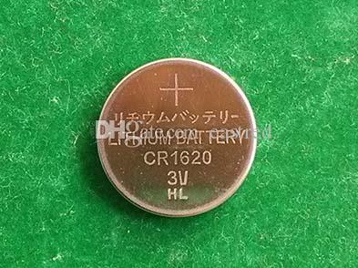 Konkurrenzfähiger Preis 3v CR1620 Lithium-Knopfzelle Batterie-Knopfzellen pro Los