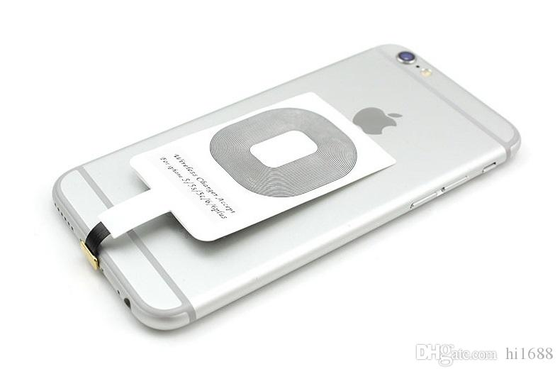 جهاز الاستقبال اللاسلكي لشحن الشحن Qi جهاز الاستقبال اللاسلكي لشحن USB متوافق مع الكل لأجهزة iPhone 5 / 5s / 5c / 6 / 6plus