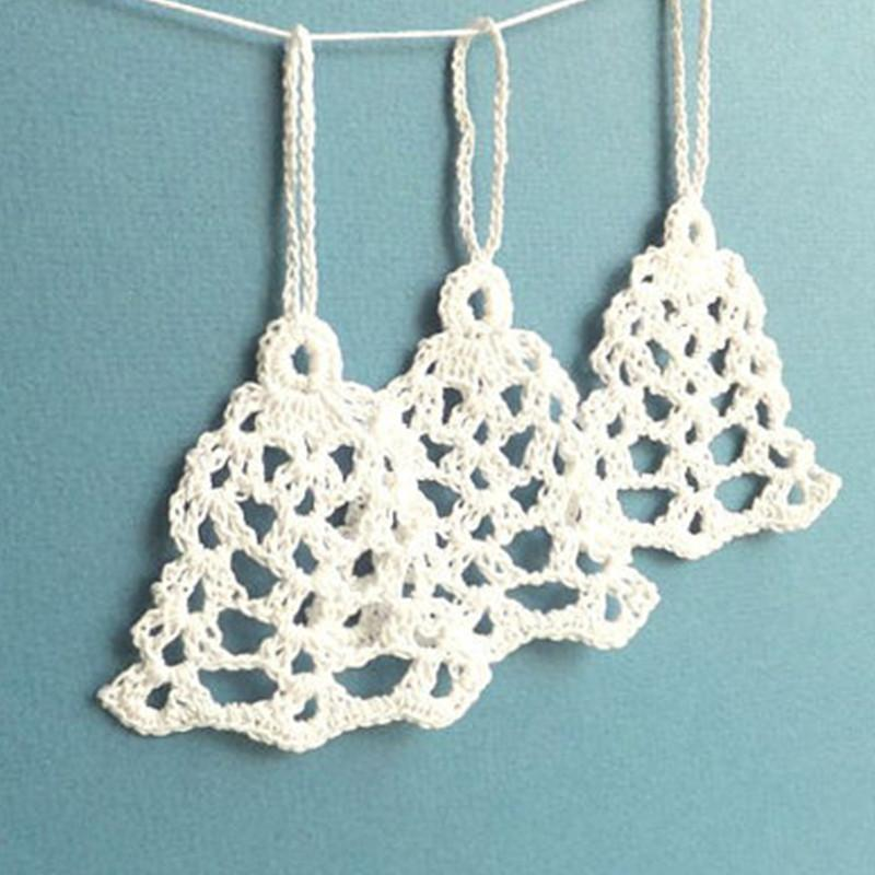 Christmas Ornaments Crochet -Christmas Tree Decorations - Crochet ...
