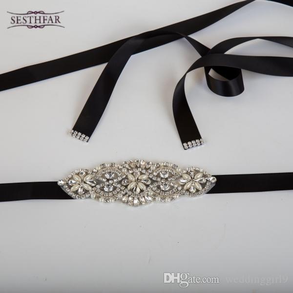 Großhandel Neu Kommen Elegante Strass Vintage Kristall Hochzeit ...