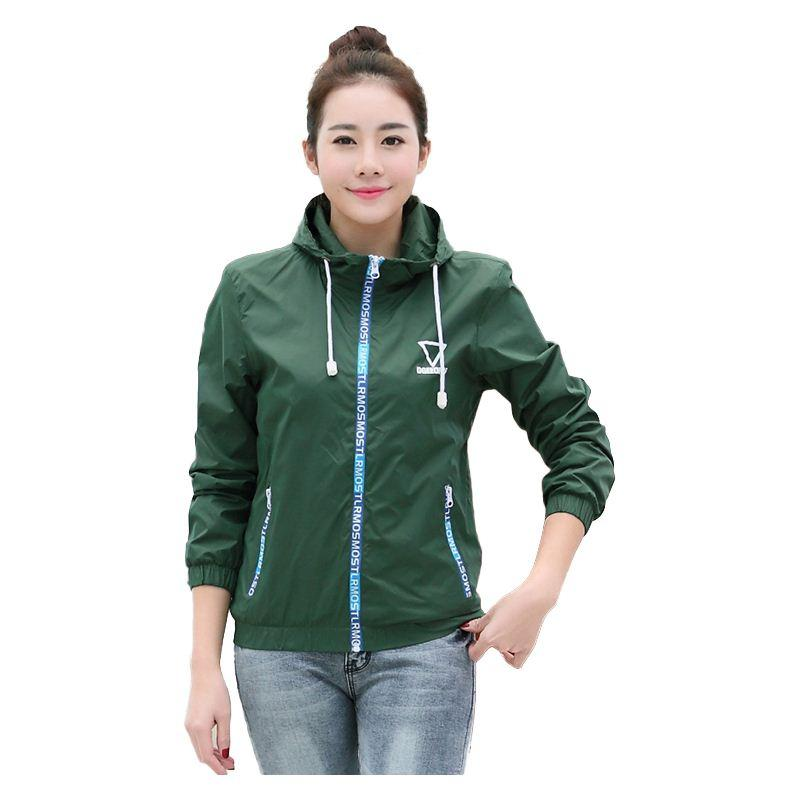 Spring Jacket Women 2016 Women'S Jacket Coat Hooded Outdoor Sports ...