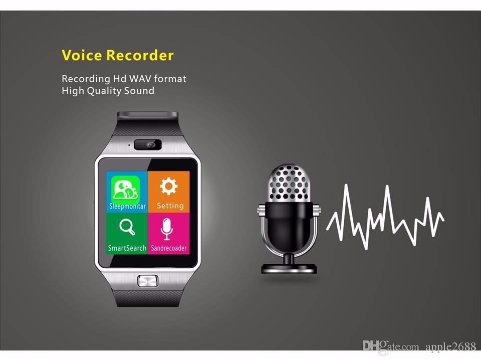 smart watch DZ09 SIM/TF bluetooth for apple/Android phone smartwatch iphone/samsung Huawei PK U8 GT08 wrist watch