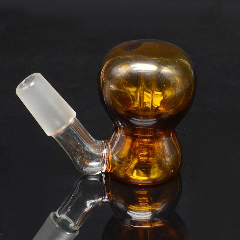 Askfångarehållare Rökning Glasrör Förångare Bong 14 mm 18 mm Snygga En Toke Bang Glas Vattenrör