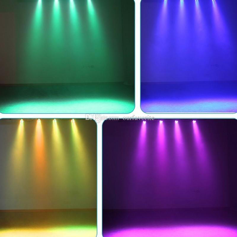 Flat led par stage light rgbw 12x3W disco party lights laser dmx luz Dj effect controller Dj Equipment projector luces discoteca