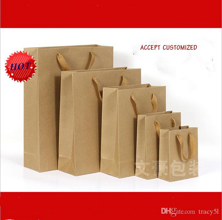 Kraft paper bag accept printing logo accept oemodm manufacture see larger image sciox Choice Image