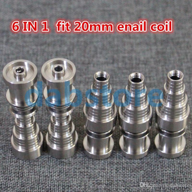 Neue glas bong nägel 10mm 14mm 19mm domeless männliche und weibliche gemeinsame domeless titanagel GR2 qulaity schnelles verschiffen