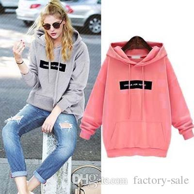 2017 New Fashion Women 2017 Stylish Thick Hoodies Autumn Winter ...