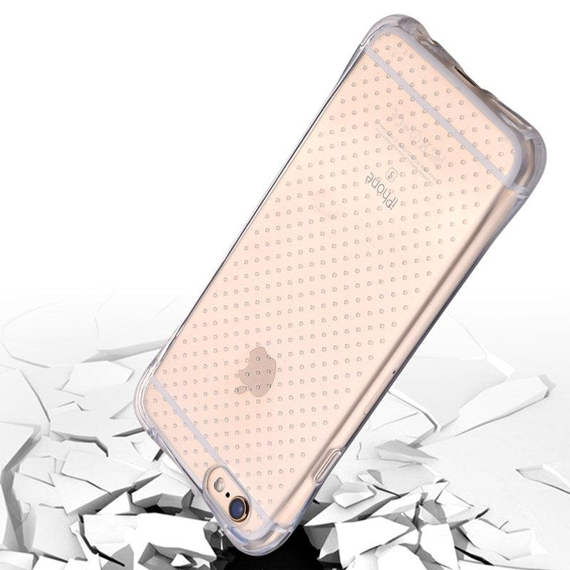 6S Security Airbag Design Anti-knock Phone Case For Iphone 6 4.7 TPU LED  Light Flash Clear Smart Calling Glitter Luminous Cover P8 Cheap Phone Bags    Cases ... 936da801dc
