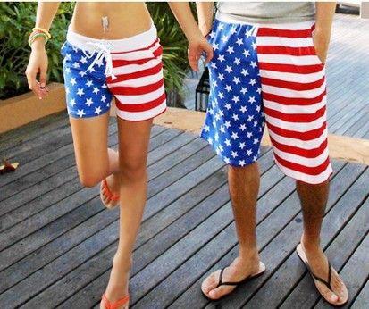 Wholesale Board Shorts American Flag Beach Shorts Women Stripe StarsSurfing  Board Shorts Men S Beach Shorts Swimming Trunks 2016 Summer UK 2019 From  Duweiha ... 1323fefca6