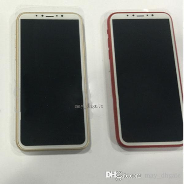 Fake Dummy Mould For iPhone 8 8plus X Metal Plastic Dummy Mobile phone model Fake Mould Only for Display Non-Working Dummy iPhone8 model