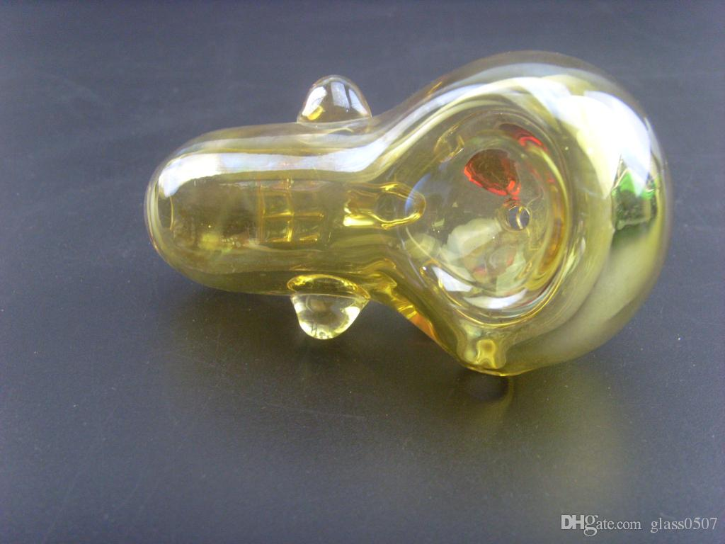 Brand New E.T. type Glass Smoking Pipes Cool Designs Ultra-light 56g for each