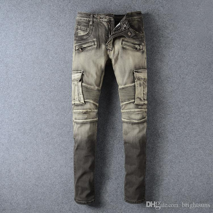 Patchwork 2018 Compre Pantalones Vaqueros Holes Cremallera Autumn wInzq0T
