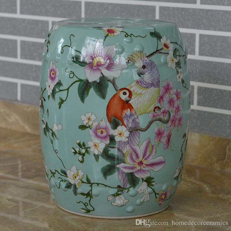 2017 Oriental Chinese Garden Stools Ceramic Wholesale