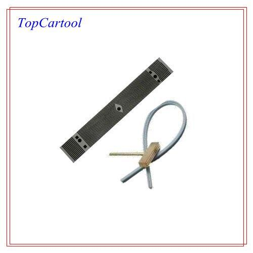 Topcartool OBDDIY Missing pixels repair for Citroen XM time display flat ribbon cable soldering t head rubber cable