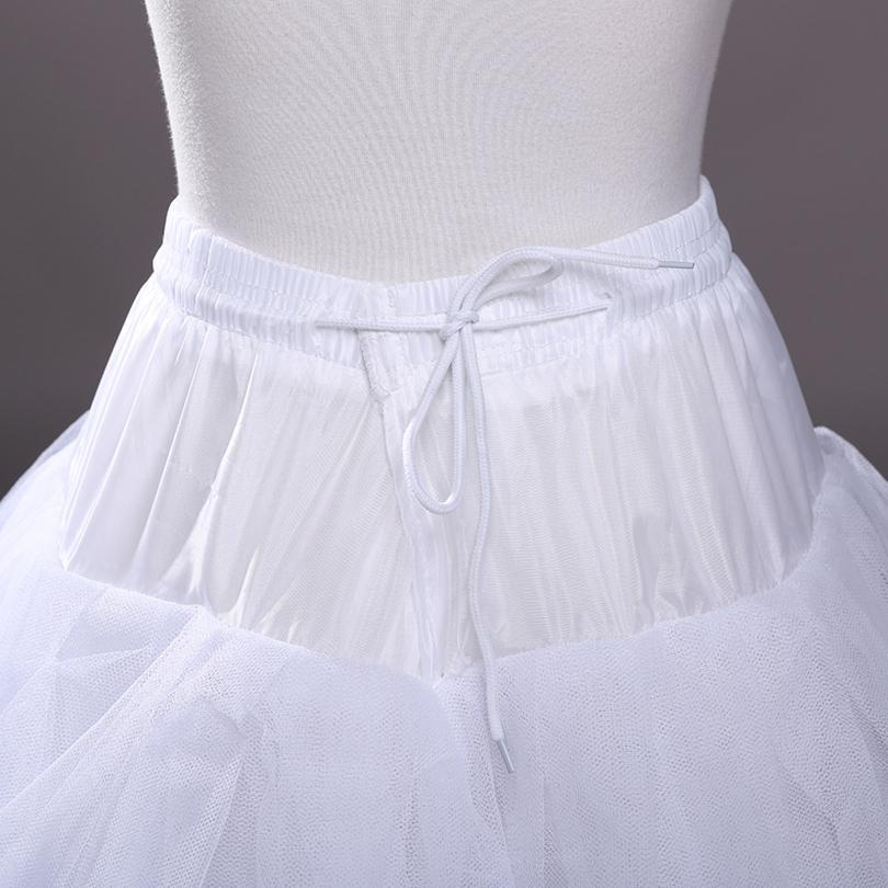 Organza Tulle Ball Gown Bridal Petticoat 2019 4 레이어 웨딩 페티코트 가운을위한 새로운 댄스 착용
